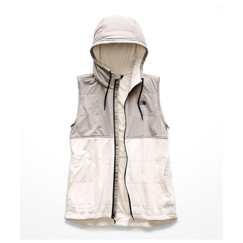ザ ノースフェイス The North Face レディース トップス ベスト・ジレ【Mountain Sweatshirt Vest】Silt Grey / Vintage White