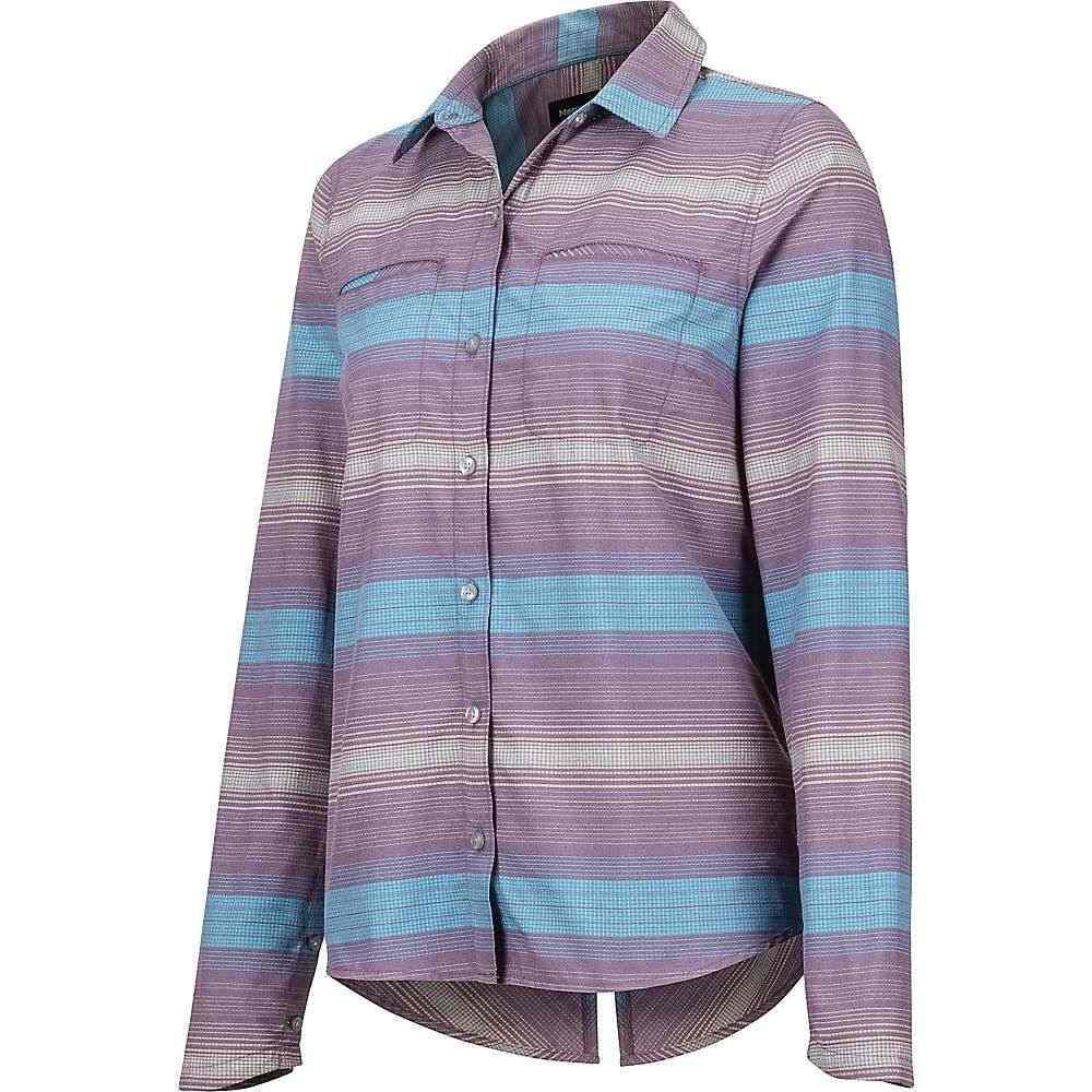 マーモット Marmot レディース ハイキング・登山 トップス【Aeolian LS Shirt】Vintage Violet