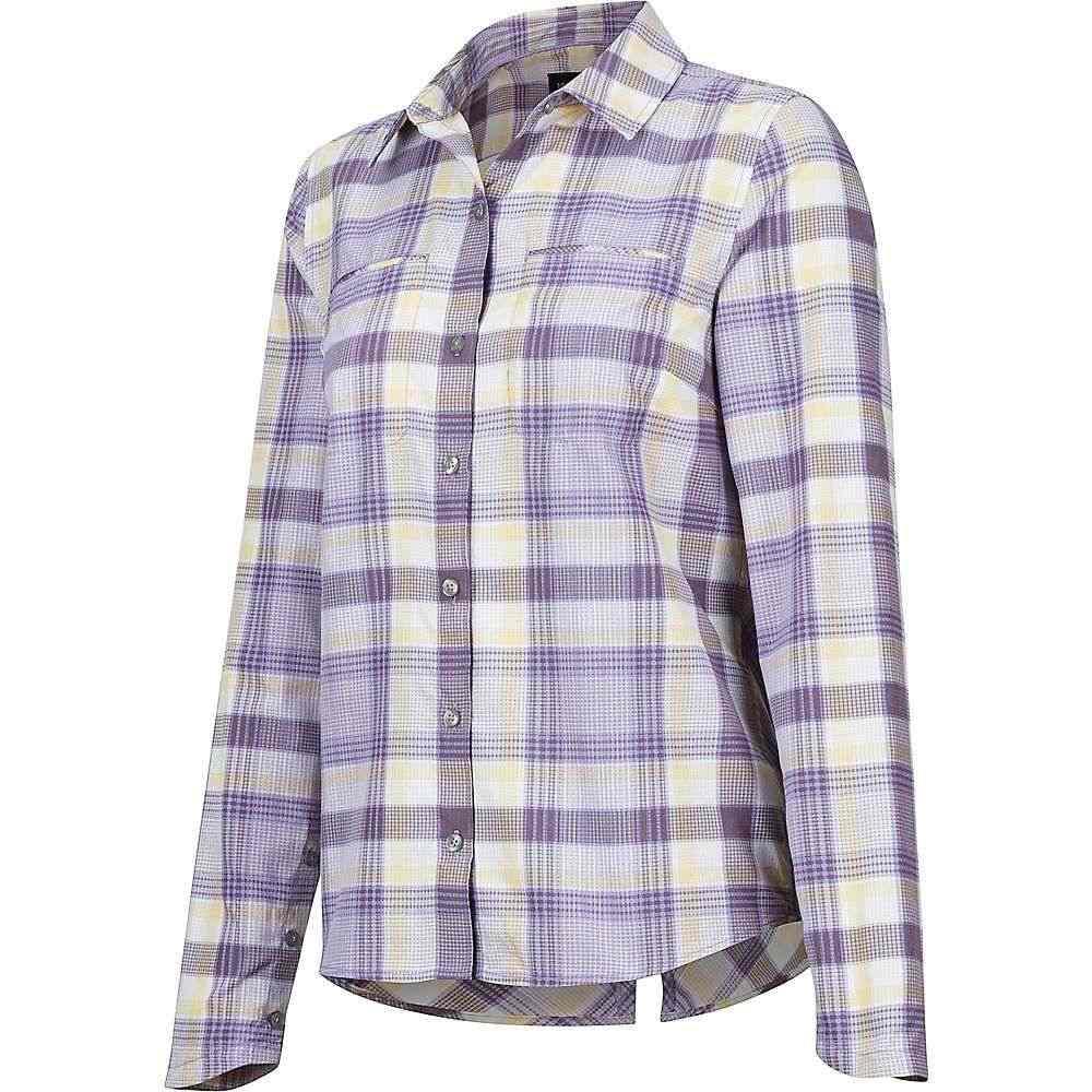 マーモット Marmot レディース ハイキング・登山 トップス【Aeolian LS Shirt】Paisley Purple