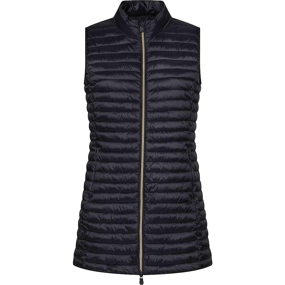 セイブ ザ ダック Save The Duck レディース トップス ベスト・ジレ【IRIS Long Vest】Black