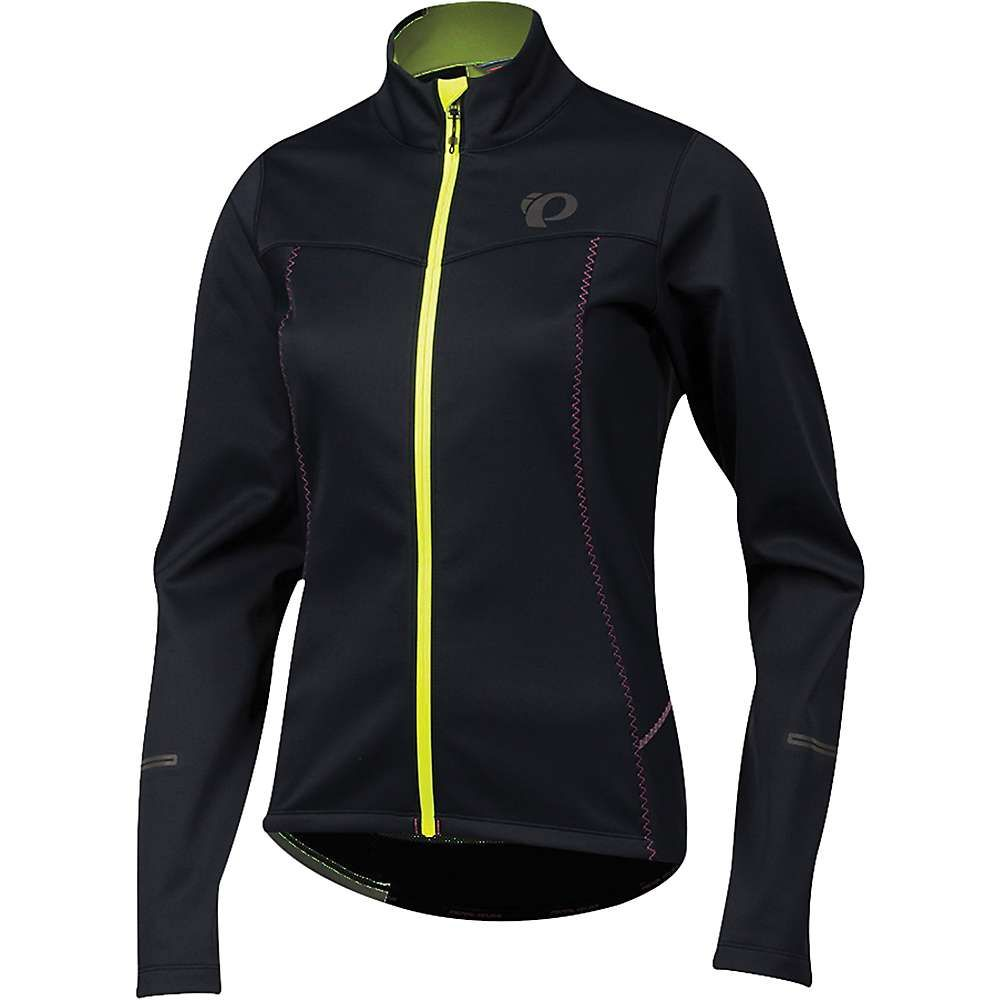 パールイズミ Pearl Izumi レディース 自転車 アウター【SELECT Escape Softshell Jacket】Black / Screaming Yellow