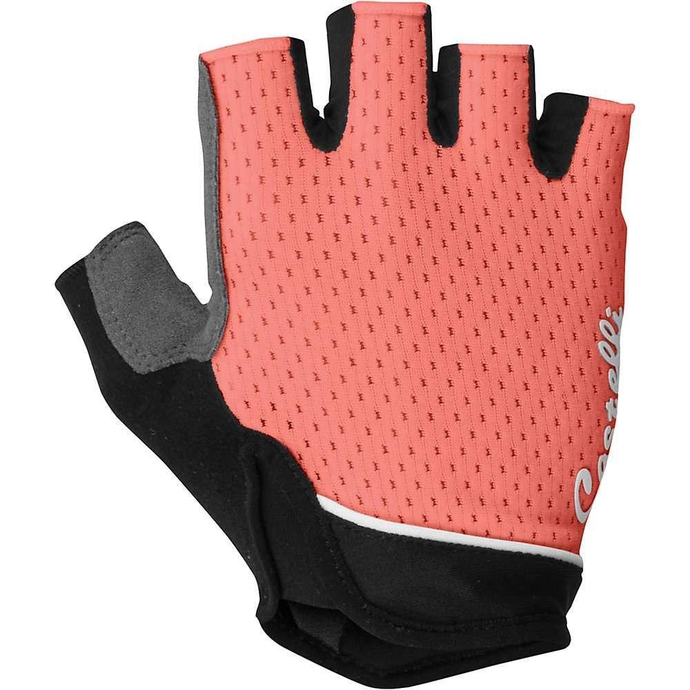 カステリ Castelli レディース 自転車 グローブ【Roubaix Gel Glove】Salmon