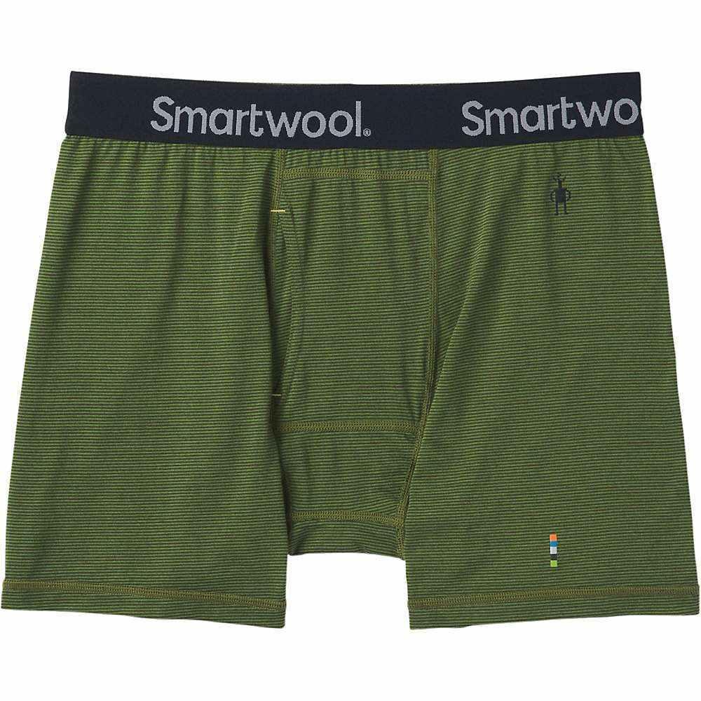 スマートウール Smartwool メンズ インナー・下着 ボクサーパンツ【Merino 150 Pattern Boxer Brief】Chive