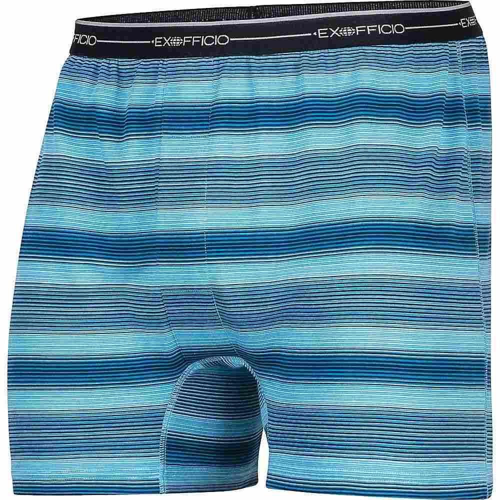 エクスオフィシオ ExOfficio メンズ インナー・下着 ボクサーパンツ【Sol Cool Boxer】Deep Water Ombre Print
