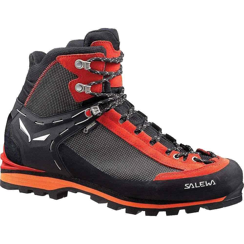サレワ Salewa メンズ ハイキング・登山 シューズ・靴【Crow GTX Boot】Black / Papavero