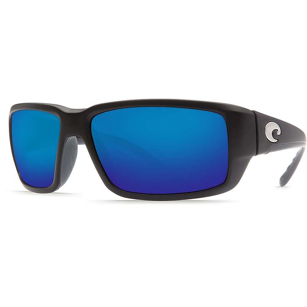 コスタデルメール Costa Del Mar メンズ スポーツサングラス【Fantail Polarized Sunglasses】Black/Blue