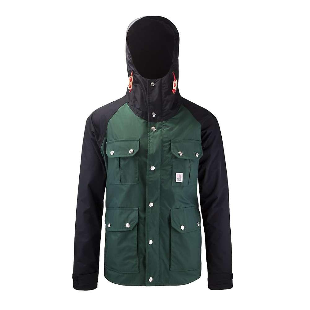 Black ジャケット【Mountain メンズ デザイン Topo アウター トポ Designs / Jacket】Forest