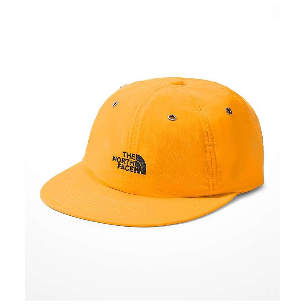 帽子 メンズ ザ THE NORTH FACE NAVY キャップ 【66 Classic Tech Citrine Yellow Campfire Strapback Hat】 ノースフェイス