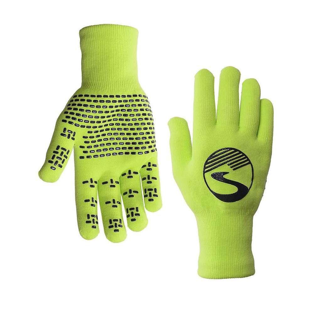 シャワーズ パス Showers Pass ユニセックス 手袋・グローブ【Knit Waterproof Glove】Neon Green
