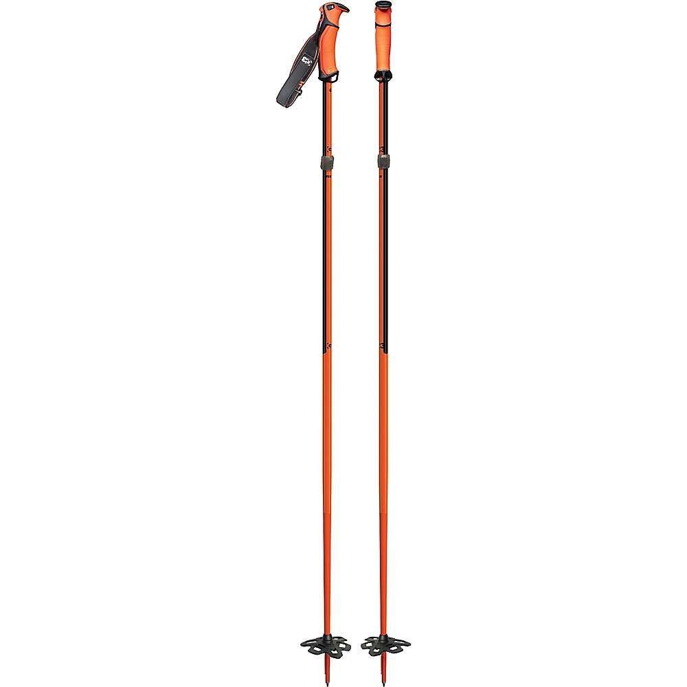 ジースリー G3 ユニセックス スキー・スノーボード【FIXIE Ski Poles】Orange/Black