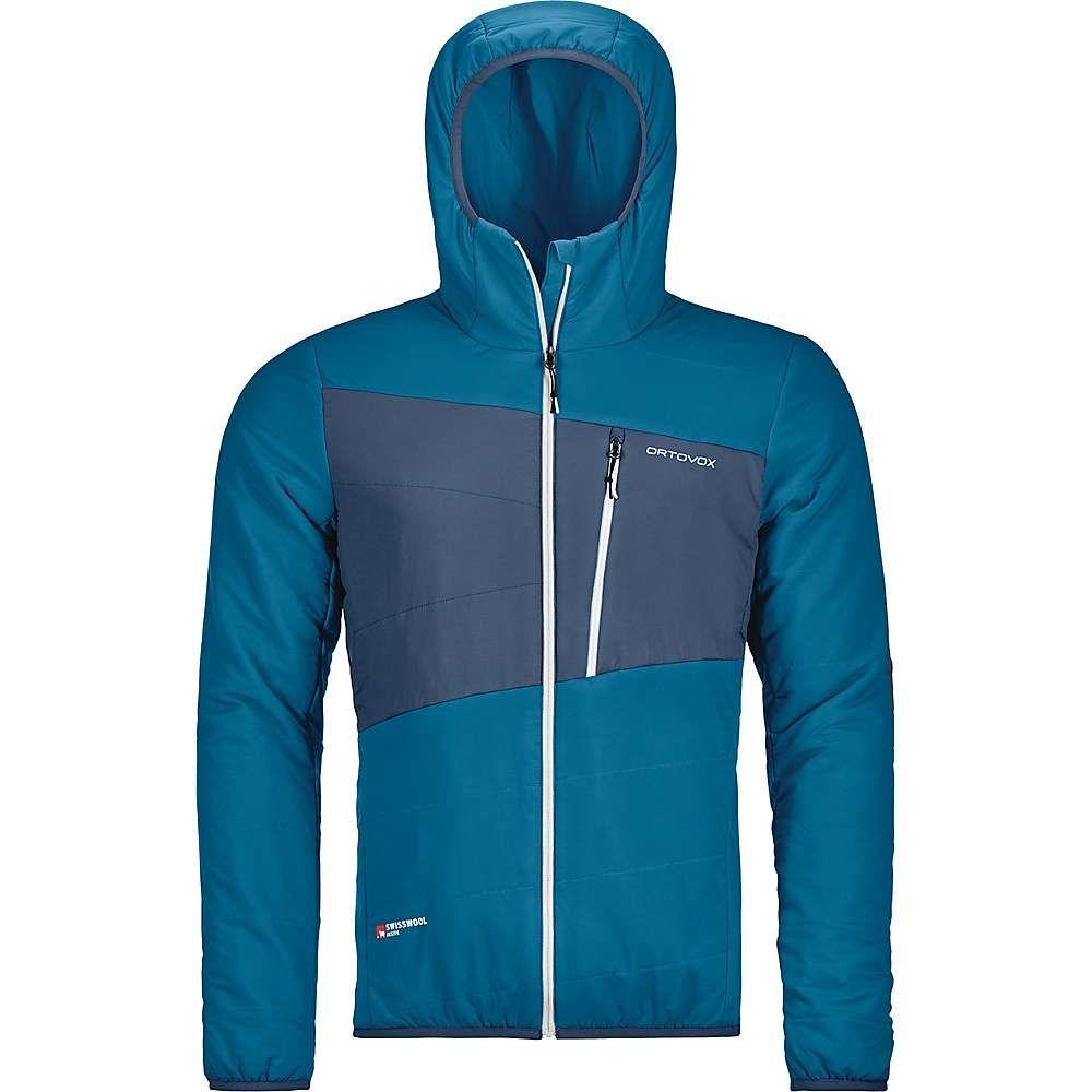 オルトボックス Ortovox メンズ スキー・スノーボード アウター【Swisswool Zebru Jacket】Blue Sea