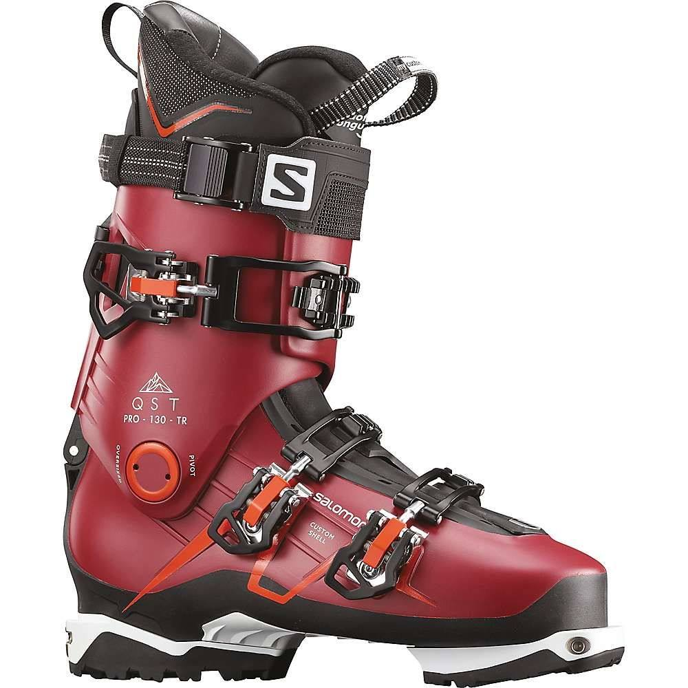 サロモン Salomon メンズ スキー・スノーボード シューズ・靴【QST Pro 130 TR Ski Boot】Pomegranate/Black/Orange