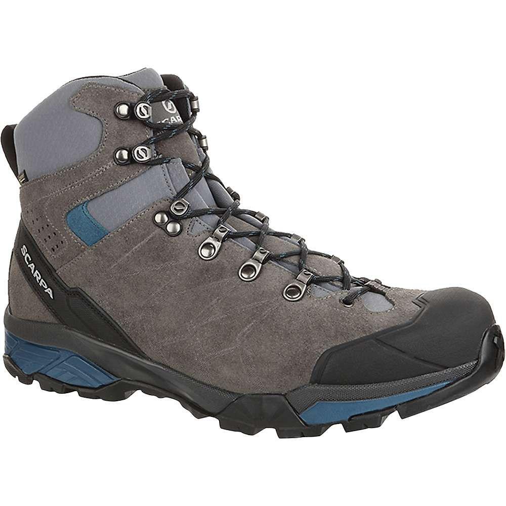 スカルパ Scarpa メンズ ハイキング・登山 シューズ・靴【ZG Trek GTX Boot】Titanium/Lake Blue