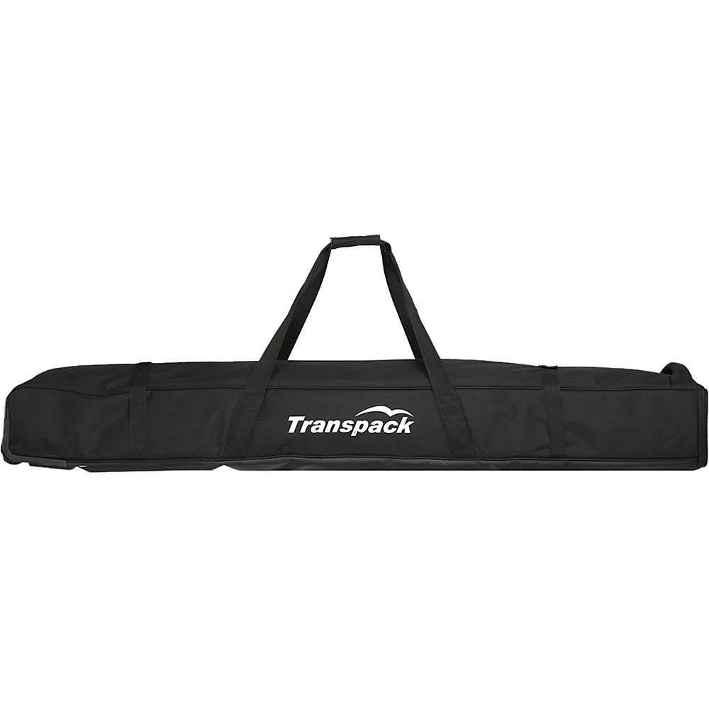 トランスパック Transpack ユニセックス スキー・スノーボード【Classic Series Ski Rolling Convertible Ski Bag】Black