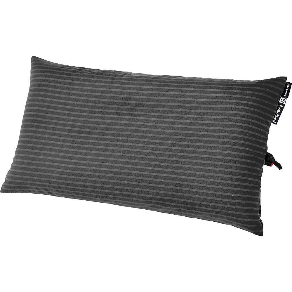 ネモ Nemo ユニセックス ハイキング・登山【NEMO Fillo Elite Luxury Pillow】Shale Stripe