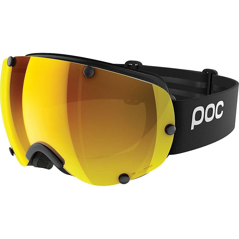 ピーオーシー POC Sports ユニセックス スキー・スノーボード ゴーグル【Lobes Clarity Goggle with Extra Lens】Uranium Black/Spektris Orange