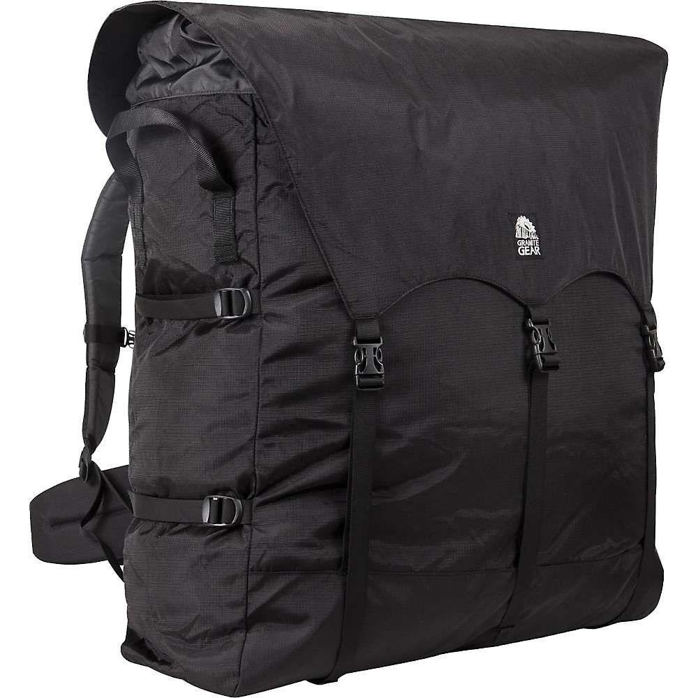 グラナイトギア Granite Gear ユニセックス ハイキング・登山 バックパック・リュック【Traditional #4 Portage Pack】Black/Chromium