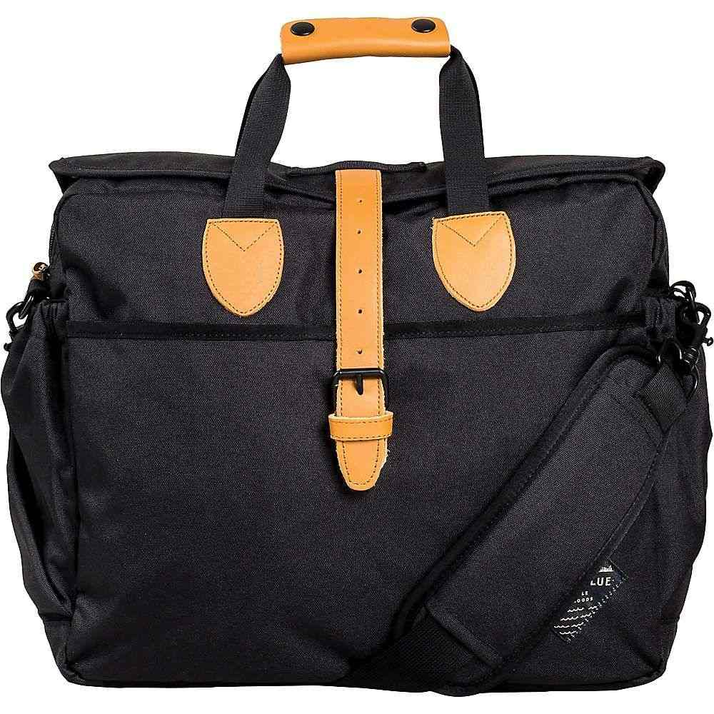 ユナイテッドバイブルー United By Blue ユニセックス バッグ パソコンバッグ【Deuhl Laptop Bag】Black