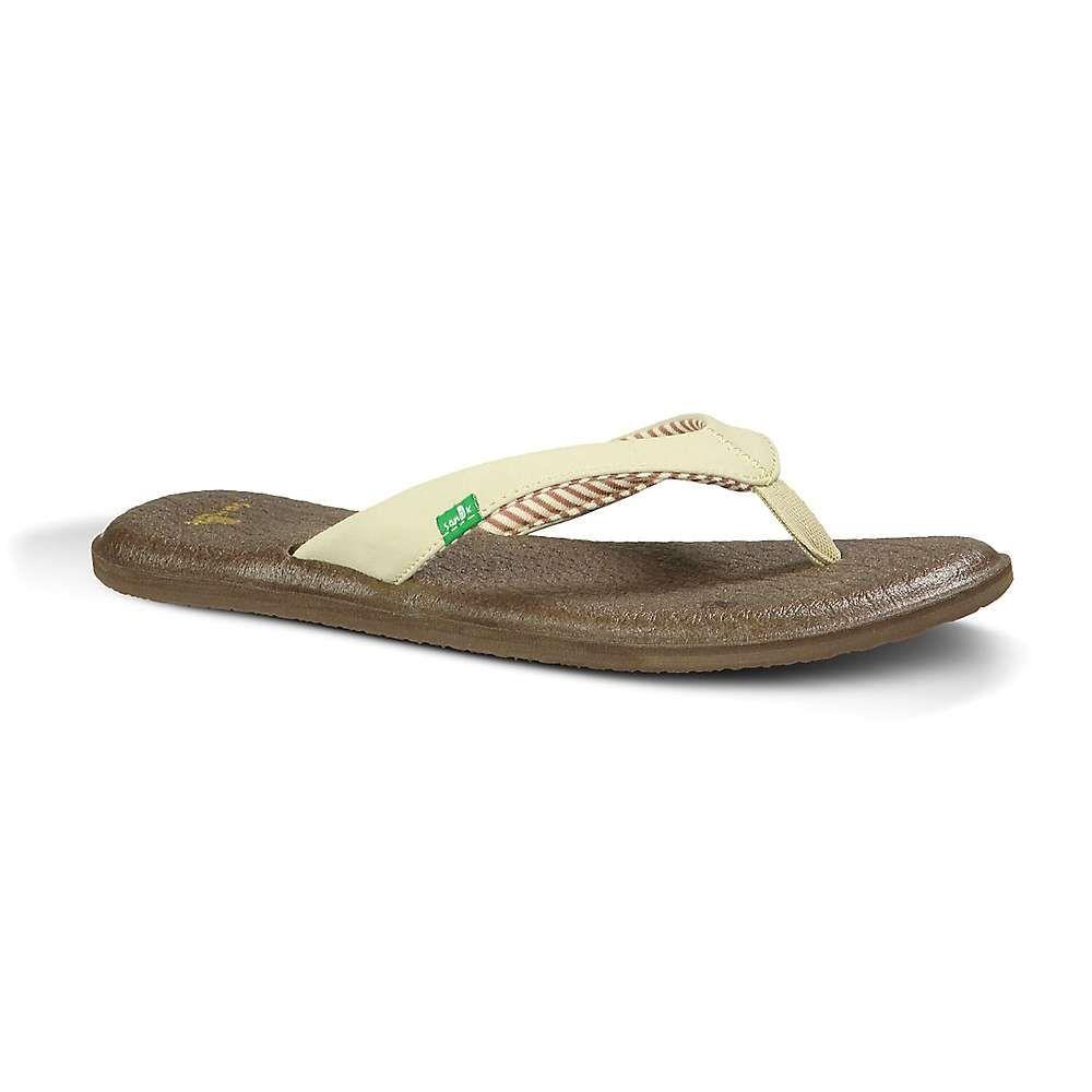 サヌーク Sanuk レディース シューズ・靴 ビーチサンダル【Yoga Chakra Sandal】Light Natural