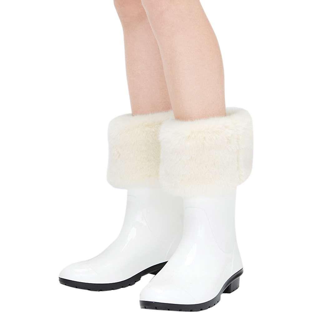 全ての アグ Ugg レディース インナー・下着 ソックス【Faux Fur Short Rainboot Sock】Cream, サプリメント健康茶専門店ふくや 13fddf09