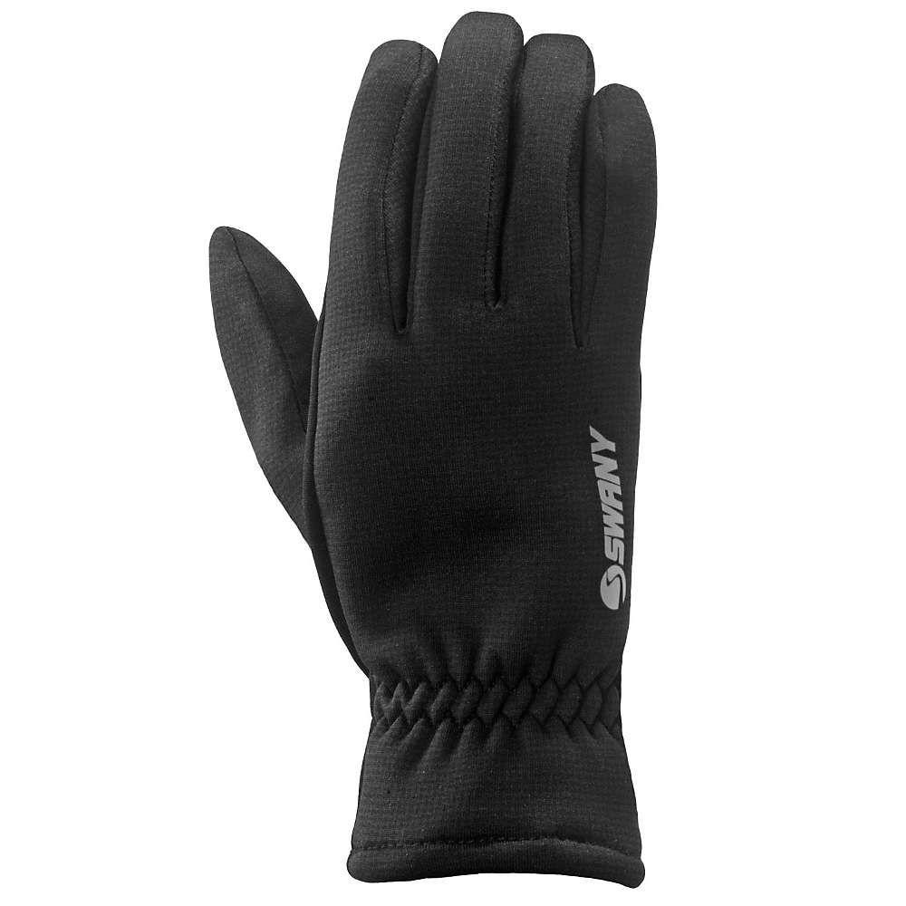スワニー Swany レディース ランニング・ウォーキング グローブ【I-Hardface Runner Glove】Black