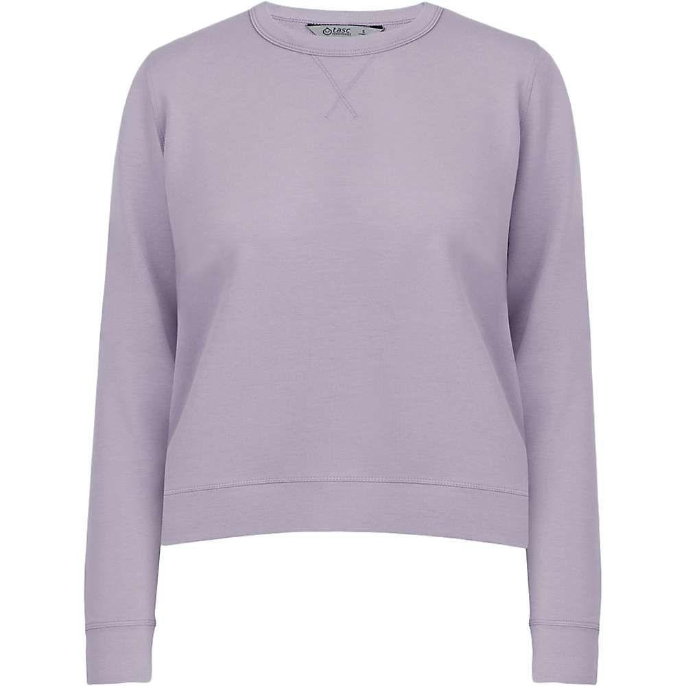 タスク Tasc Performance レディース トップス スウェット・トレーナー【Tasc Studio FT Sweatshirt】Lavender Aura