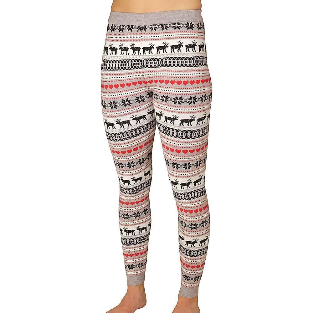 ホットチリーズ Hot Chillys レディース インナー・下着 スパッツ・レギンス【Sweater Knit Printed Legging】Winter Love