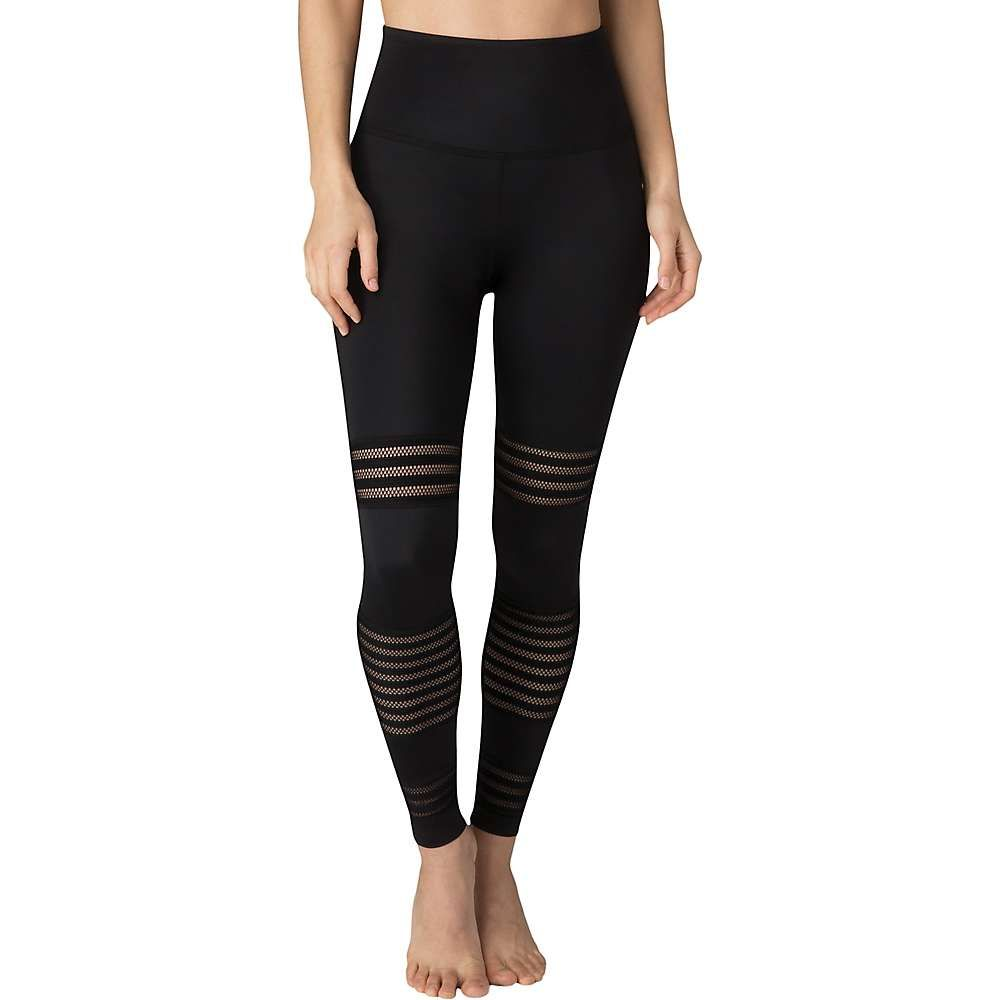 ビヨンドヨガ Beyond Yoga レディース ヨガ・ピラティス ボトムス・パンツ【Mesh To Impress High Waisted Midi Legging】Black