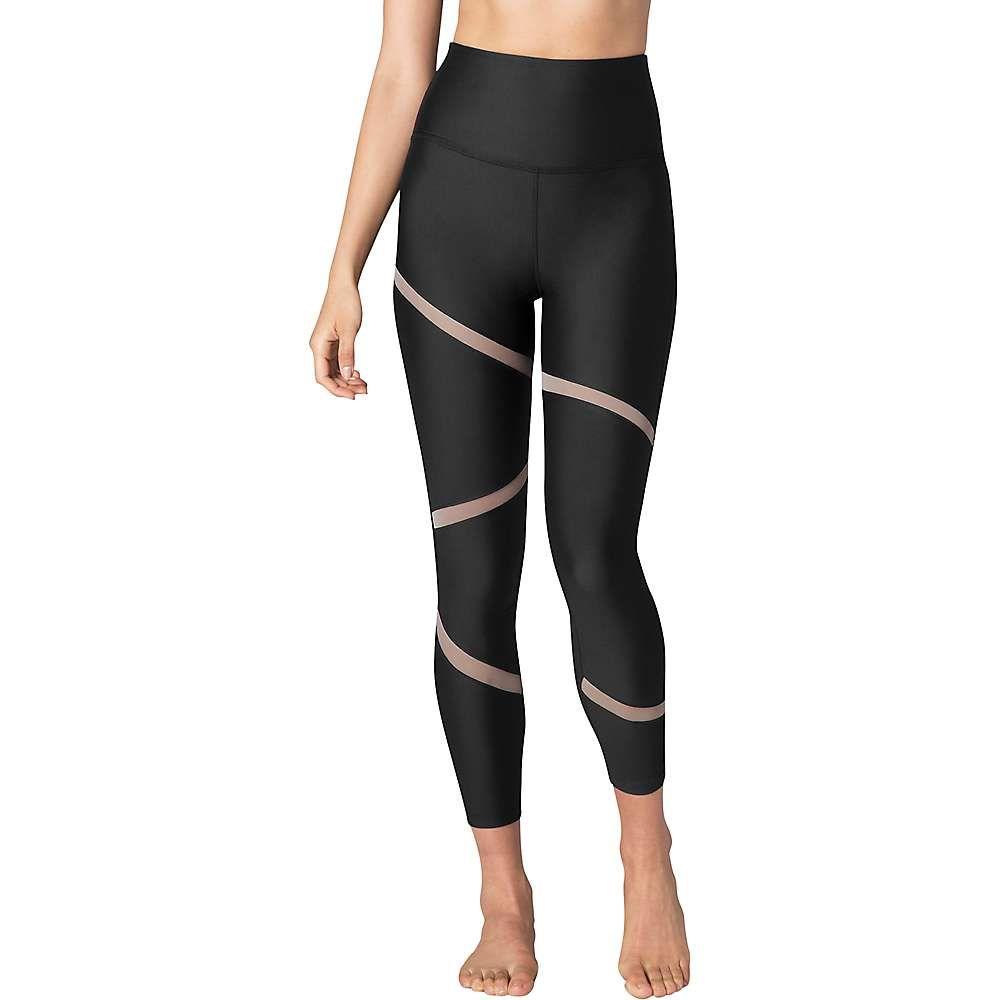 ビヨンドヨガ Beyond Yoga レディース ヨガ・ピラティス ボトムス・パンツ【Perfect Illusion High Waisted Midi Legging】Black