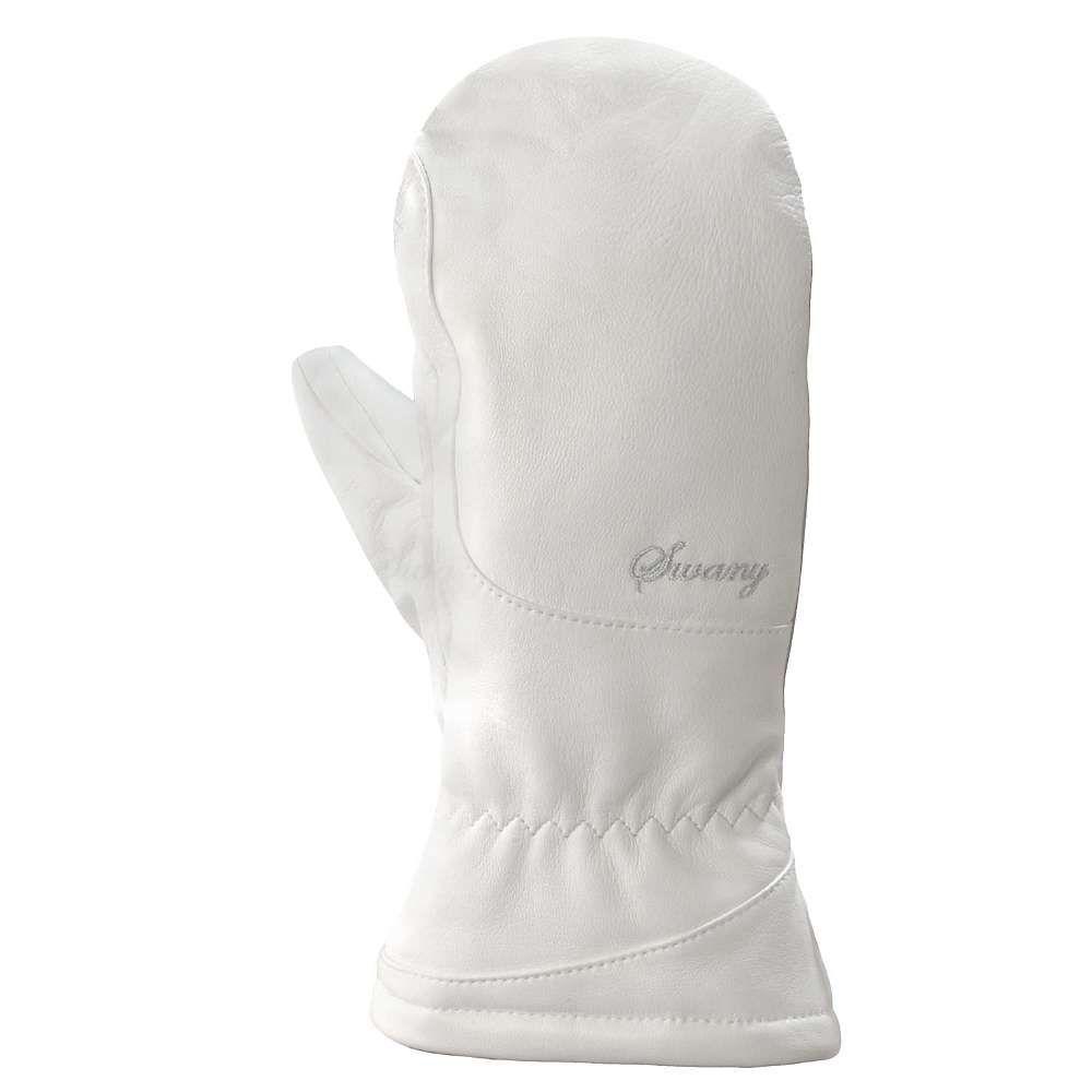 スワニー Swany レディース スキー・スノーボード グローブ【La Cozy 3 in 1 Mitt】White