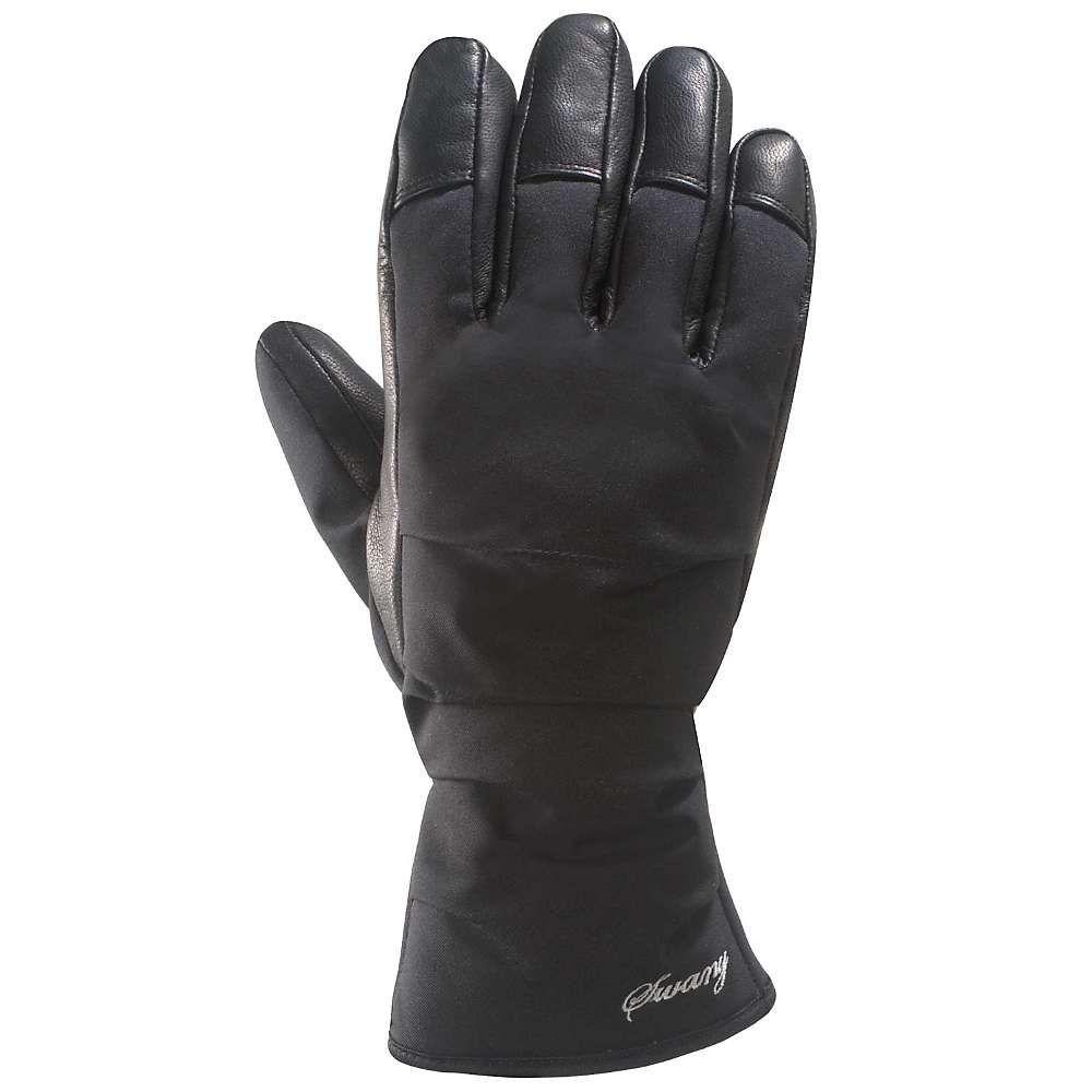 スワニー Swany レディース スキー・スノーボード グローブ【La Down Glove】Black