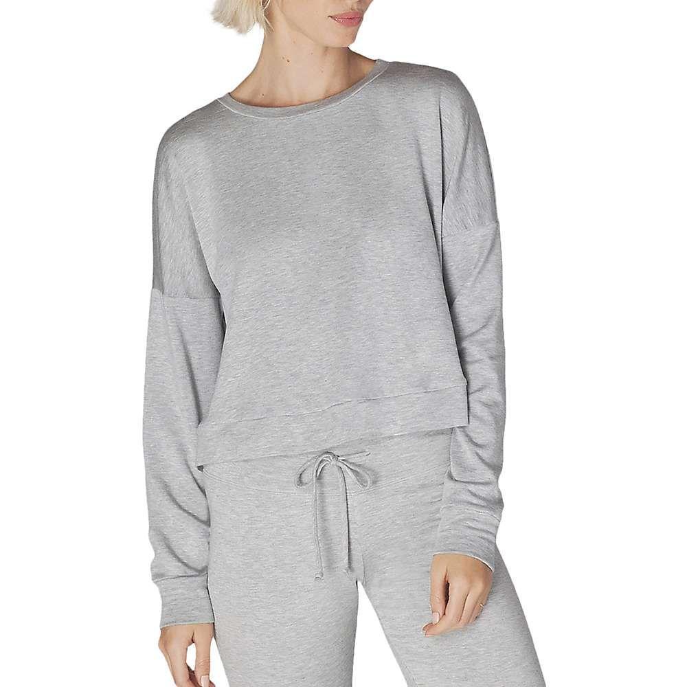 ビヨンドヨガ Beyond Yoga レディース トップス【Color Streak Cropped Pullover】Light Heather Grey