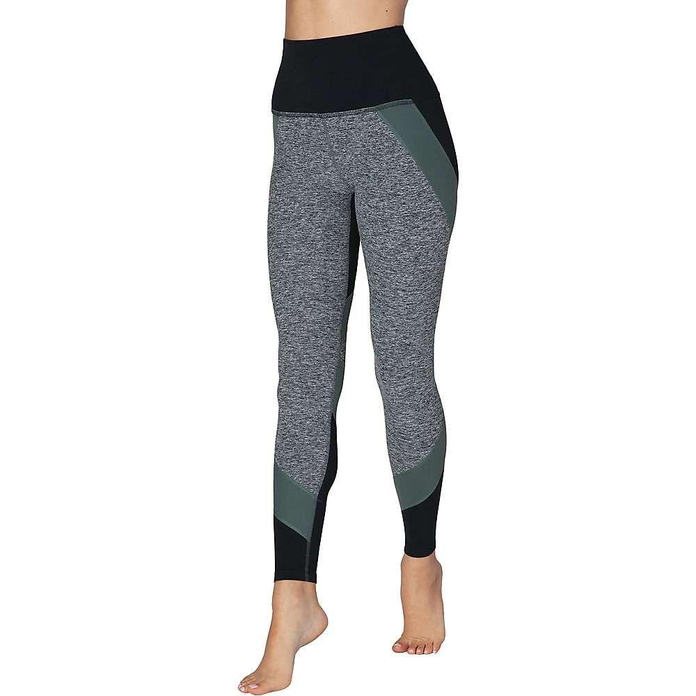 ビヨンドヨガ Beyond Yoga レディース ヨガ・ピラティス ボトムス・パンツ【Colorblocked High Waisted Long Legging】Black Triple Block