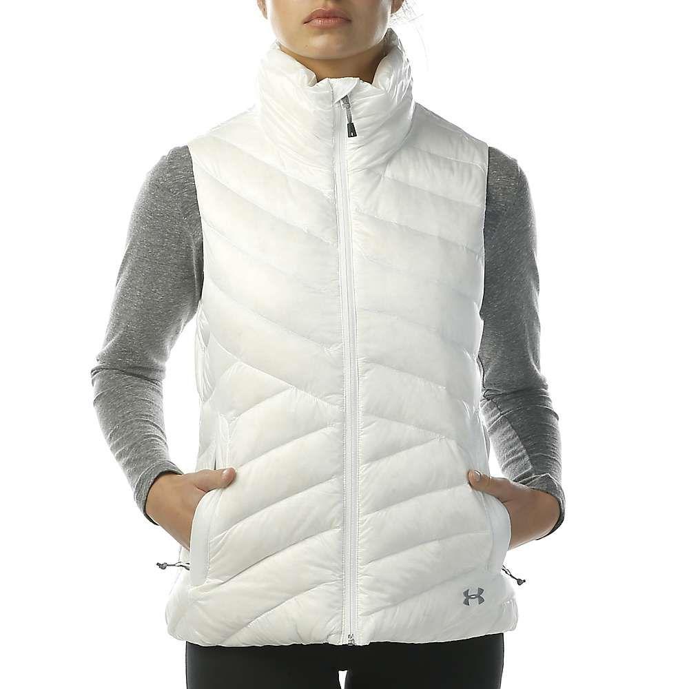 アンダーアーマー Under Armour レディース トップス ベスト・ジレ【ColdGear Infrared Uptown Vest】White / Steel