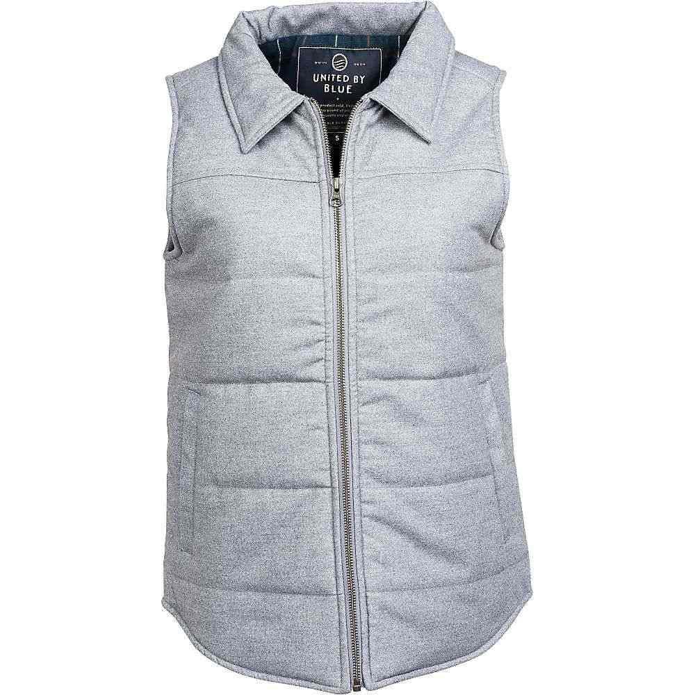 ユナイテッドバイブルー United By Blue レディース トップス ベスト・ジレ【Martel Wool Vest】Grey