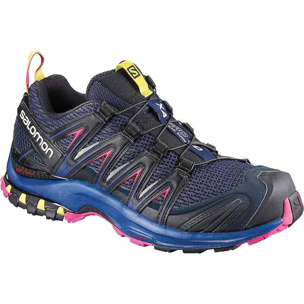 サロモン Salomon レディース ランニング・ウォーキング シューズ・靴【XA Pro 3D Shoe】Medieval Blue / Surf The Web / Pink Yarrow