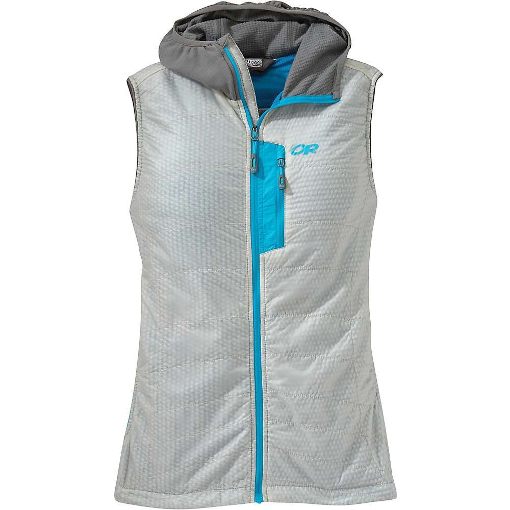 アウトドアリサーチ Outdoor Research レディース トップス ベスト・ジレ【Deviator Hooded Vest】Alloy / Pewter