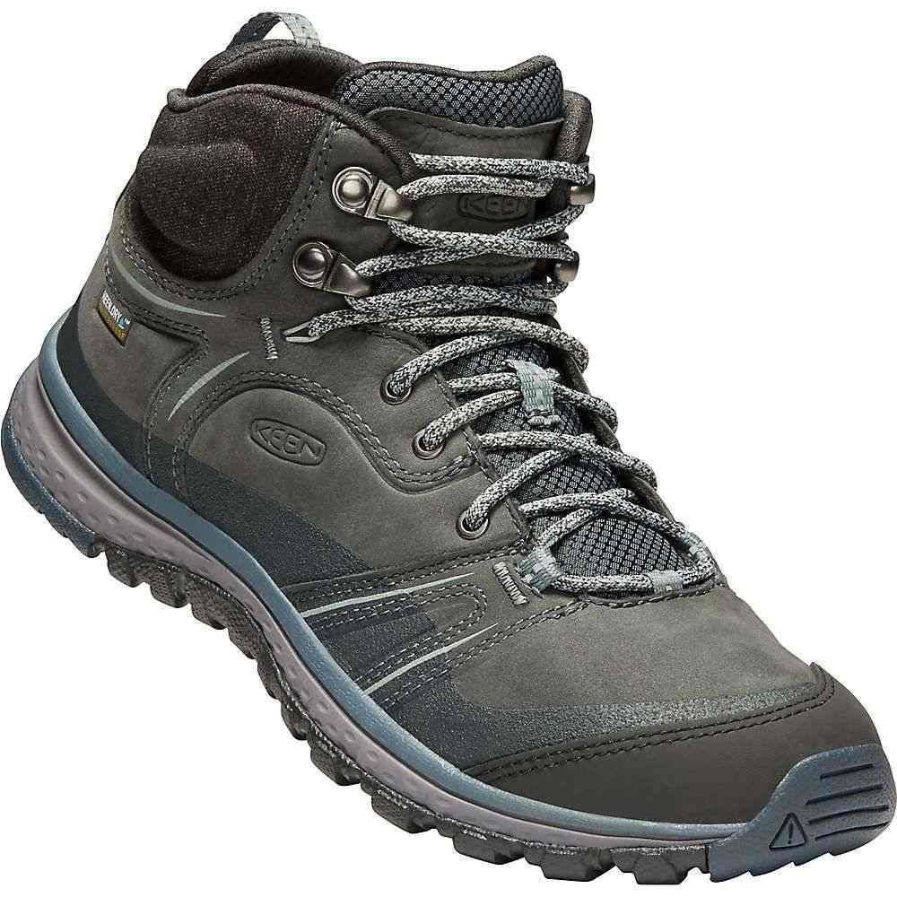 キーン Keen レディース ランニング・ウォーキング シューズ・靴【Terradora Leather Mid Waterproof Shoe】Tarragon / Turbulence