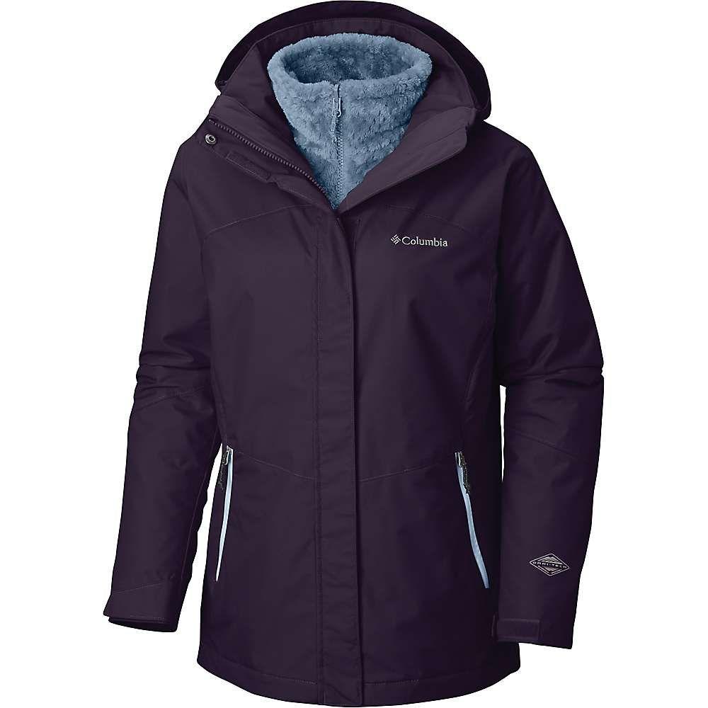 コロンビア Columbia レディース トップス フリース【Bugaboo II Fleece Interchange Jacket】Dark Plum