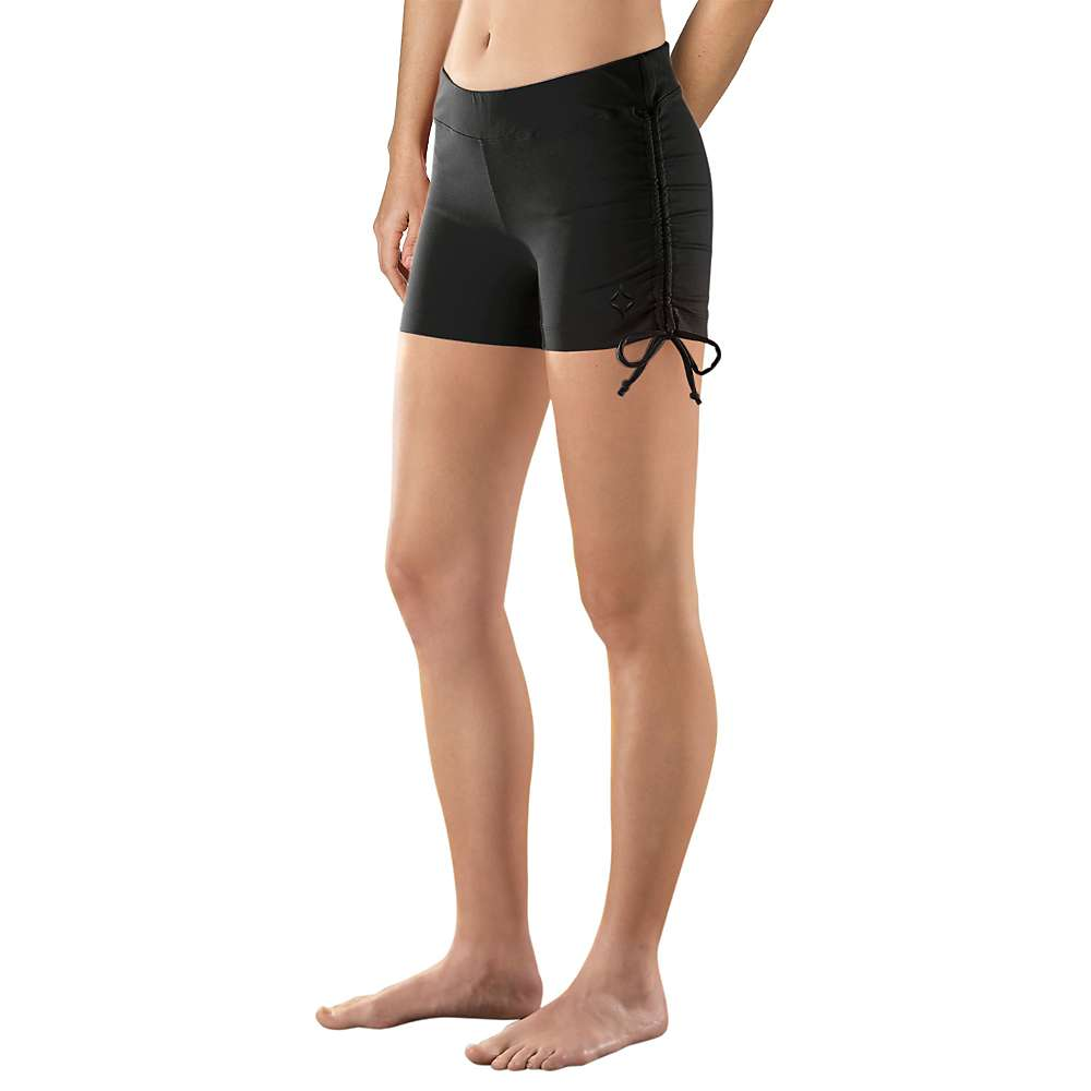 ストーンウェアデザイン レディース ヨガ ウェア【Stonewear Designs Hot Yoga Short】Black