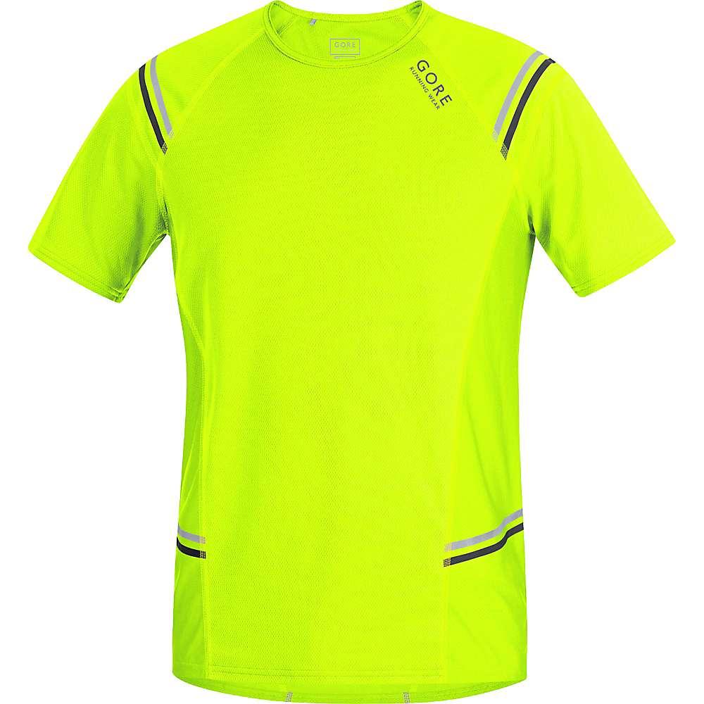 ゴア メンズ ランニング ウェア【Gore Running Wear Mythos 6.0 Shirt】Neon Yellow