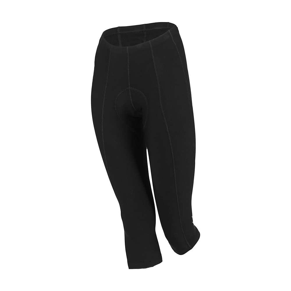 シービースト レディース サイクリング ウェア【Shebeest Pedal Pusher Capri】Black