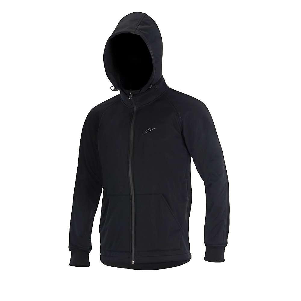 アルパインスターズ メンズ サイクリング ウェア【Alpine Stars Milestone Softshell Jacket】Black / Steel Grey