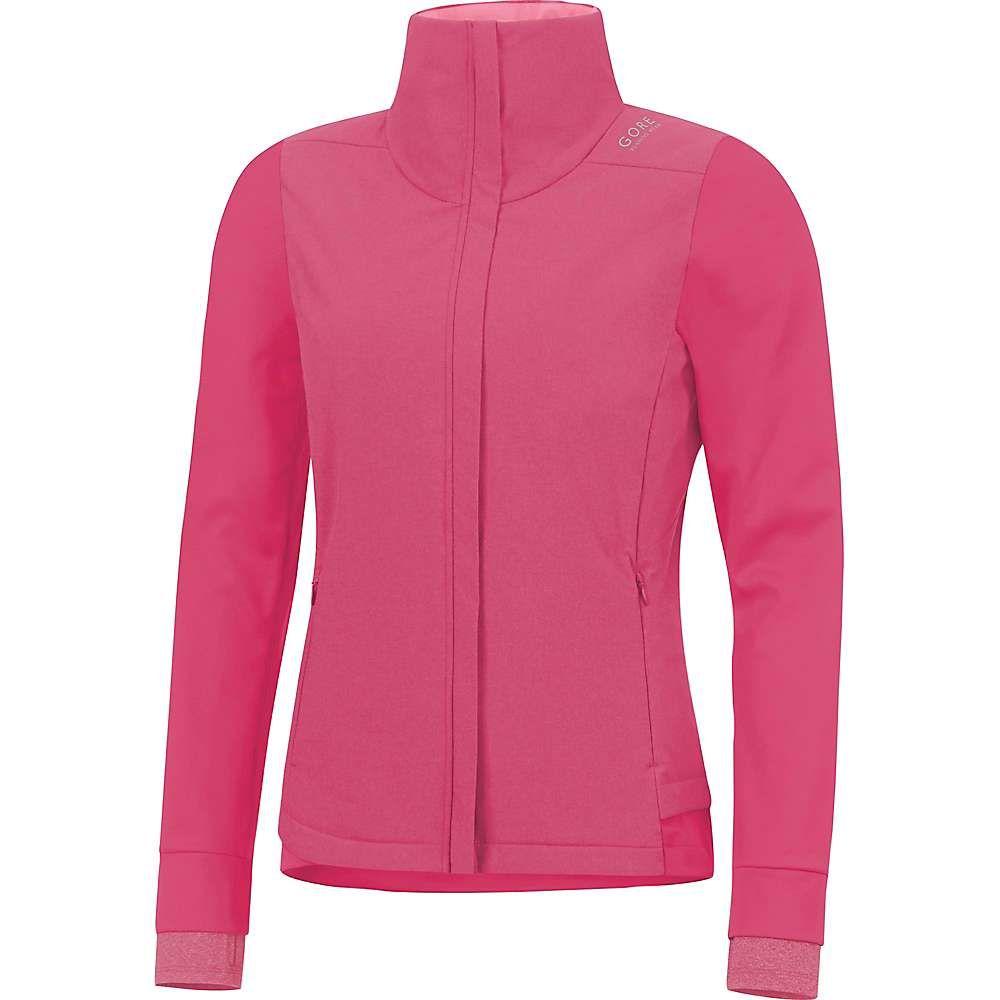 ゴアウェア Gore Wear レディース ランニング・ウォーキング アウター【Sunlight Lady Gore Windstopper Jacket】Jazzy Pink