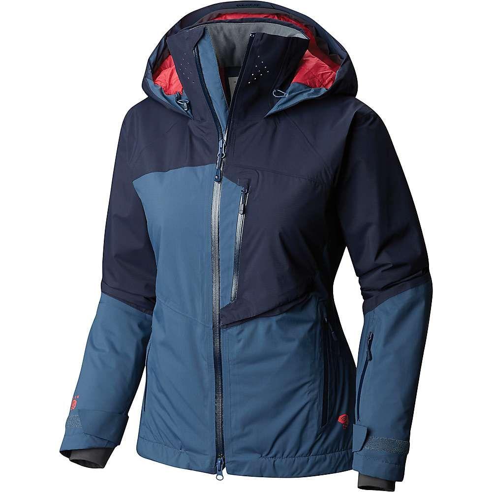 マウンテンハードウェア Mountain Hardwear レディース スキー・スノーボード アウター【Vintersaga Insulated Jacket】Zinc