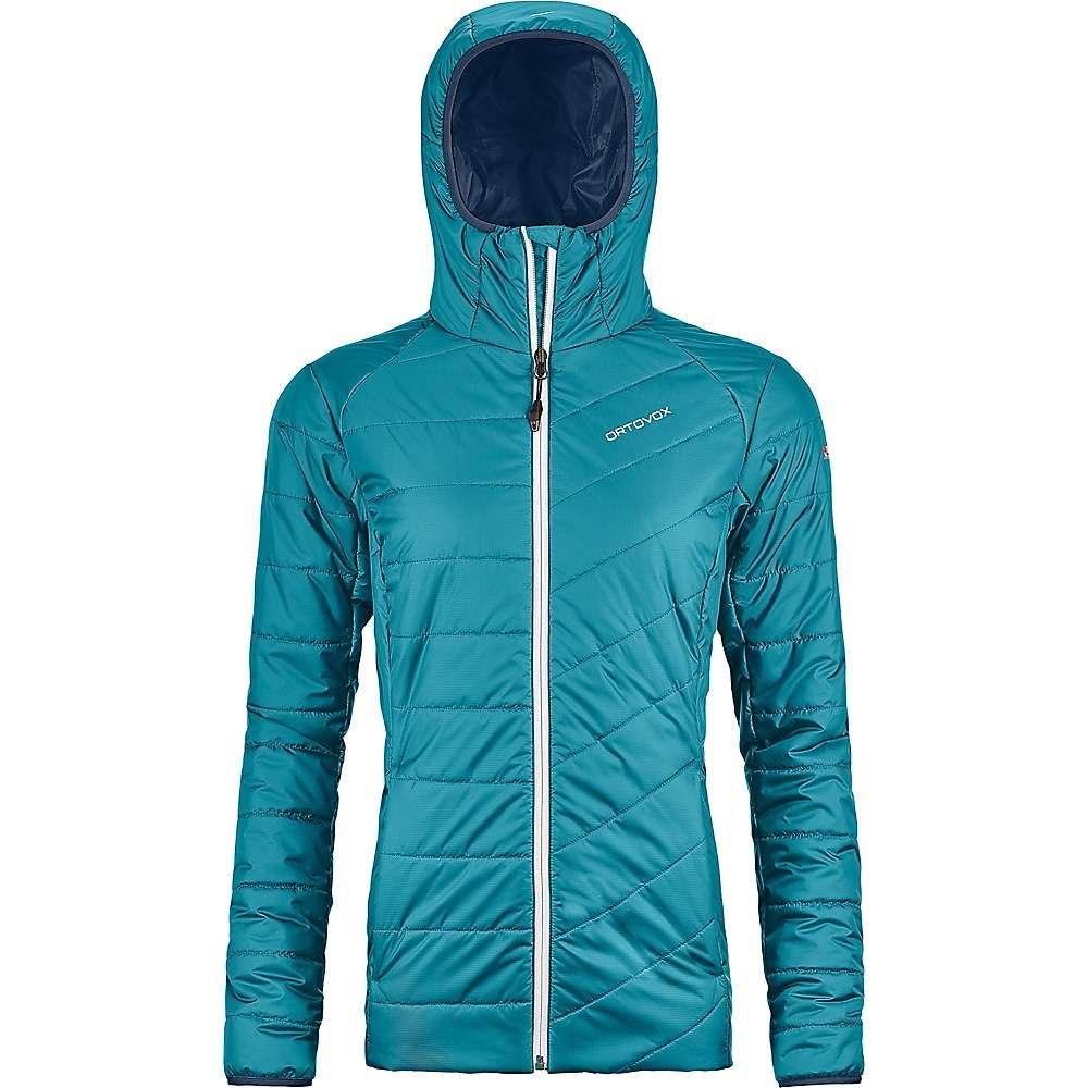 オルトボックス Ortovox レディース スキー・スノーボード アウター【Swisswool Piz Bernina Jacket】Aqua