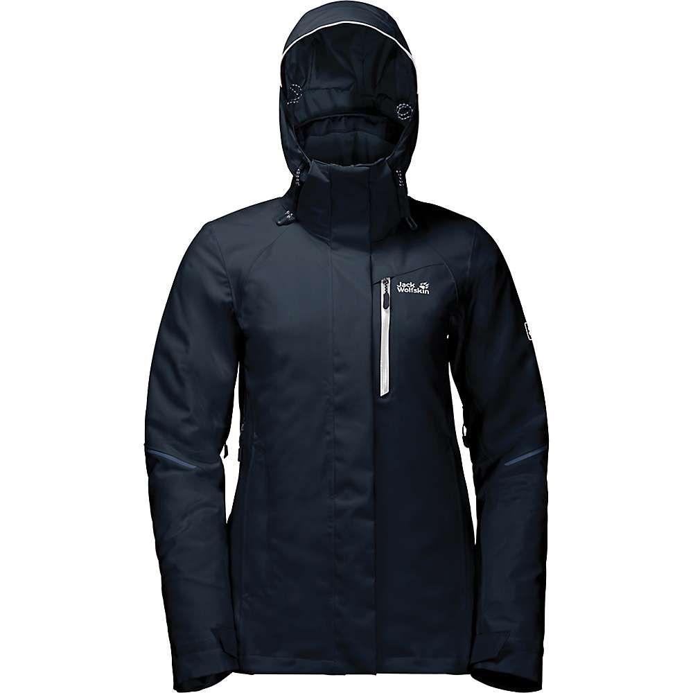 ジャックウルフスキン Jack Wolfskin レディース スキー・スノーボード アウター【Exolight Icy Jacket】Midnight Blue