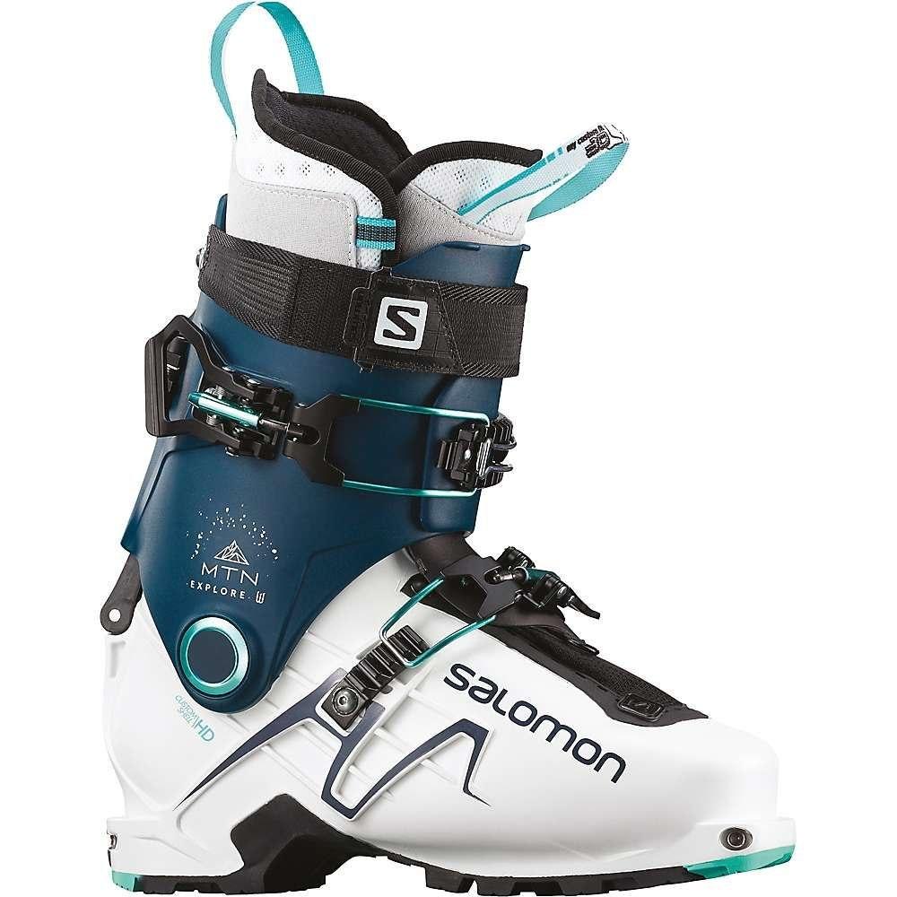 サロモン Salomon レディース スキー・スノーボード シューズ・靴【MTN Explore Ski Boot】White/Petrol Blue/Aruba Blue