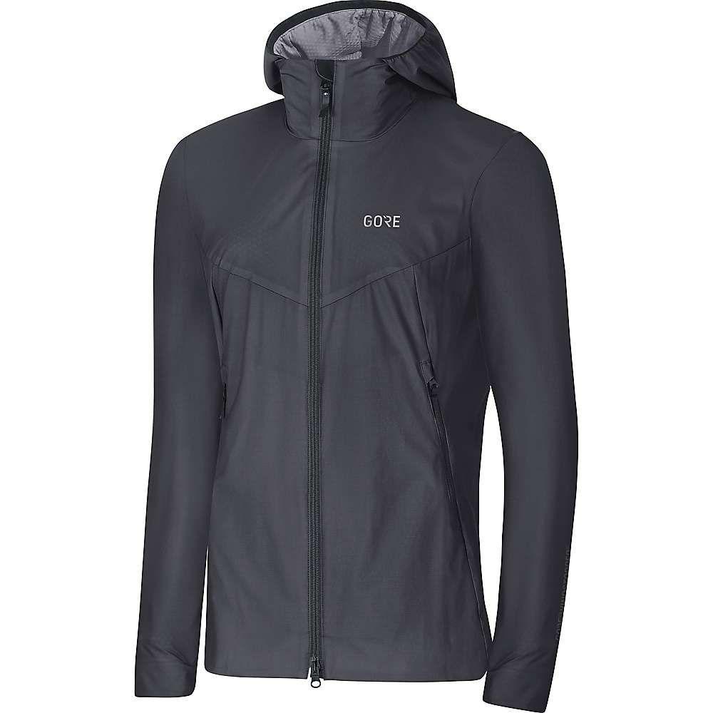 ゴアウェア Gore Wear レディース アウター ジャケット【H5 Gore Windstopper Insulated Hooded Jacket】Terra Grey / Black