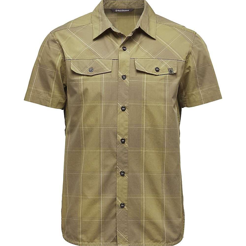 ブラックダイヤモンド Black Diamond メンズ ハイキング・登山 トップス【Technician Shirt】Burnt Olive / Herb Plaid